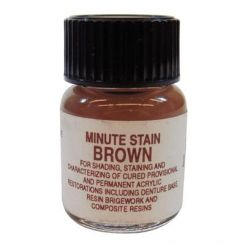 Taub Minute Stain, Brown, 1/4 oz Refill (01-2000)