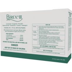Birex SE III Cleaner Concentrate Clinic Pack, 36 x 1 oz Packets (296043)