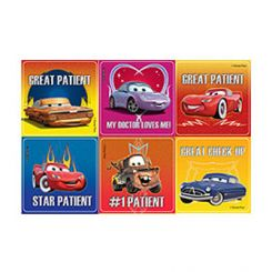 Sherman Stickers Cars Assorted 100/Roll  (PS416)