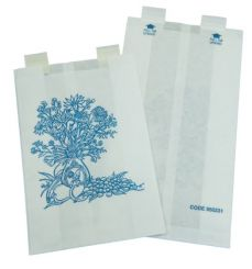 Fox Converting Self Adhesive Waste Receptacle Paper Bags, 6.5 x 2.5 x 9 in, 200/ Box (420 653 900)