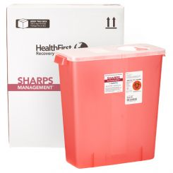 HealthFirst Medical Waste Management Container, 3 Gallon (1006000)