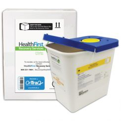 HealthFirst Medical Waste Management Container, Mail-back, 2 Gallon (1006290)