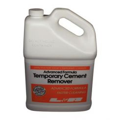 L&R Ultrasonic Cleaning Solutions, Advanced Formula Temporary Cement Remover, 1 Gallon (293)