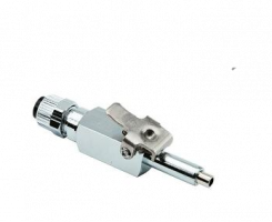 1/4 Q.D. MALE WITH SHUT-OFF/DC  (0014)