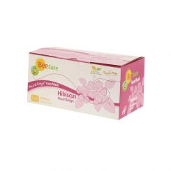 BeeSure Ear-Loop Face Mask Floral Hibiscus Pink 50/box, Level-2(BE2300)