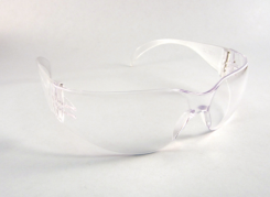 Protex Safety Glasses-Clear Lens Wrap Frost Frame(For shields)(DP1315FT01)