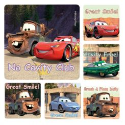 Sherman Stickers, Cars, 100/ Roll (PS422)