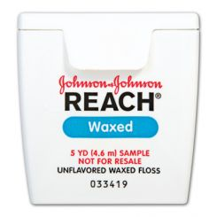 Reach Floss Waxed 5 Yards Patient Trial Size 144/Bx  (200986303)