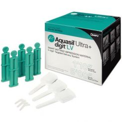Dentsply Aquasil Ultra+ Smart Wetting Wash Regular Set Refill 50 mL XLV Orange 4/Package  (678668)