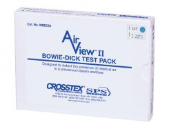 """AirViewII Bowie-Dick Test Packs 3.75"""" x 0.625 30/cs (MBD-030)"""