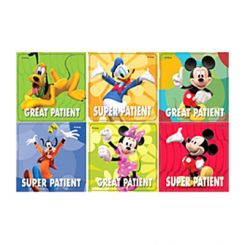 Sherman Stickers Disney Characters Assorted 100/Roll  (PS373)