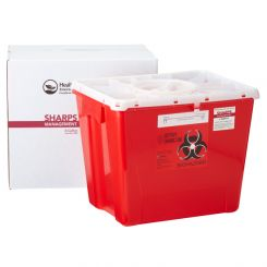HealthFirst Medical Waste Management Container, 8 Gallon (1006010)