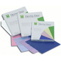 """Convenience Dam Pack 5"""" x 5"""" (127 x 127 mm) Sheets- Bx of 364-Med/Pastels   (H07316)"""