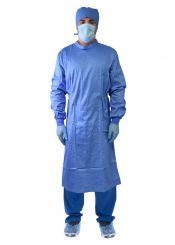 PacDent Reusable Isolation Gowns With Knit Cuff, Medium, 1 unit (ISG-100B-M)