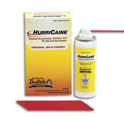 Beutlich Hurricaine Topical Anesthetic Spray, 2 oz Can, Wild Cherry (0283-0679-02) (0679-02)