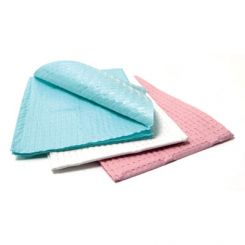 """Avalon Papers Poly Towels 2 Ply Tissue+Poly 13""""x18"""", Yellow, 500/Cs (1050)"""